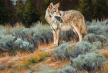 Wolves in Art 2 / ART