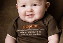 Adoption / by Jan L. | fourharpdesigns
