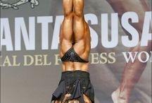 Fitness, bikini and figure