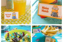 Minion Party Food Ideas / Looking for food ideas for your Minion birthday party! Here is a collection of food recipes for any Despicable Me Minions themed birthday party! / by Divas Can Cook®