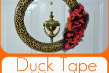 Duck Tape/Washi Tape / by Becca Purr