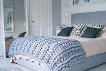 Knitted Blankets + Bedroom Ideas