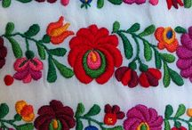 traditional hungarian embroidering