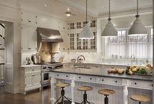 Hub of the house. / Kitchens.