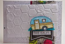 Crafty Caravans and Vintage Trailers / A board dedicated to the creative and crafty side of vintage caravan/travel trailers.