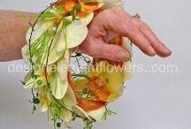 Phalaenopsis wrist bouquet / Brides wrist bouquet made with phalaenopsis orchids