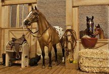 Model Horse (Breyer, Peter Stone, other): Stable / Здесь будут находиться постановочные фотографии моделей лошадей в масштабе 1:9
