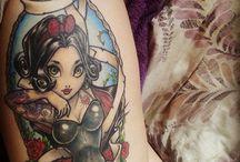 My tattoos <3 / .