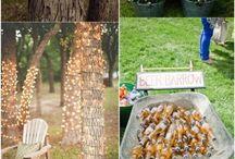 Rustic Wedding Ideas / Rustic wedding ideas, farm wedding, outdoor wedding, barn wedding, country wedding.