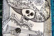 2015 IDEAS. (K) Catrinas - El Dia de los Muertos