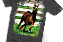 Art Your Shirts-Wear Your Passion / JaniceO Designer Tees - T-Shirts designed by Janice, featuring the beautiful Arabian horses that have touched her life.