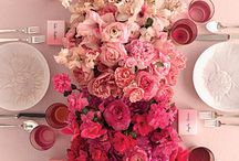 Color Inspiration - Fuchsia, Rose... / All things Pink! How to bring pink into your Costa Rica Wedding color scheme.