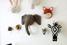 Animal Rooms / Animal themed kid's room and decor