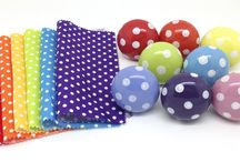 Versatile Polka Dots / Use Polka Dot doorknobs to revitalise and energise your design