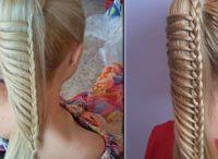 Haarvlechten en color