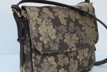 Handmade Handbags / Sewn and Handmade Handbags crafted out of tapestries, leathers, upholstery.
