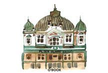 Illustrations O'BOOK / Иллюстрации к книгам, журналам, открыткам -  автором которых является Olga Yakubovskaya.  Illustrations by Olga Yakubovskaya