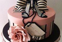 Chic cake birthday
