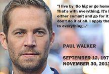Paul Walker / by Let It Reign