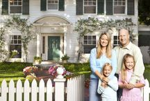 colonial exteriors / by Sandi Berger