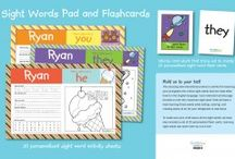 Sight Word Pads