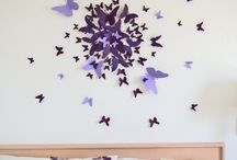 taylahs butterfly walls
