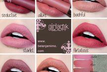 brand and sample makeup