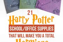 harry potter school diy