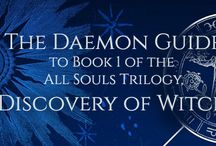 All Souls Trilogy Reading Guides / New to the series or need a refresher?  Pick up one of our reading guides to help you out:  A Discovery of Witches, Shadow of Night, The Book of Life in the All Souls Trilogy by Deborah Harkness. / by Armitage4Clairmont