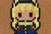 Pixel Art - Disney Princesses