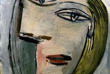 Picasso ve klasik resimler.