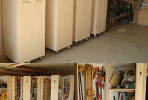 Holzmöbel Garage