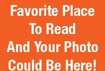 Favorite Places to Read / Where's your favorite place to read?  A comfy chair?  The park?  Your local bookstore or cafe?  BEA wants to know! Submit your photo and a short description to bookexpoamerica@gmail.com and you may see your favorite place to read featured here!