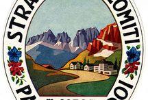 1960 travel label