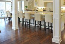Unique wood floors