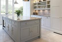 Dream house - Kitchen / Bench tops, ovens, kitchen storage, splashbacks