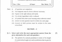 question papers