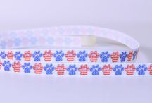Dog / Cat and Furry Friends Paw Ribbons and Resins