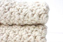 Crochet, mailles, cachemire, ...
