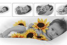 Babyfotografie / Fotoreportage baby's tot 3 maanden.