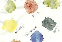 Malen mit den Farben der Natur