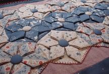 Origamis de tela, patchwork japones