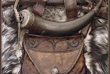 Powder Horns and possibles bag / by Rich Bennett