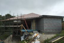 Luxulyan Project / A contemporary designed, modern extension onto a traditional farm cottage has recently been completed by the BWF team. This innovative design combined SIPS walls and SIPS roof and proved a challenging build with the project pre fabricated in the Truro unit and accurately constructed on site .