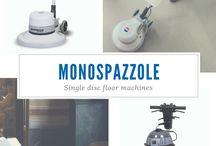 MONOSPAZZOLE / Monospazzole Bm2 per pulizia pavimenti.