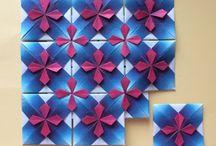 折り紙モザイク