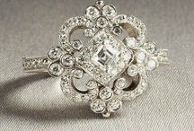 Give Me a Ring... / Shiny, lovely, glittery tokens of love - engagement rings, wedding rings, eternity rings - the jewellery says it all.