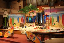 Surf Shack Decorating Ideas / Tips and ideas to prepare your area for Surf Shack VBS! / by Cokesbury VBS