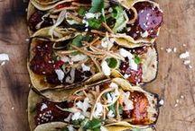 Tacos, Quesadilla,Puffs