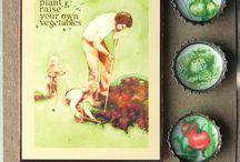 Victory Garden / Growing your own garden, vegetable garden, organic gardening, backyard garden, garden art